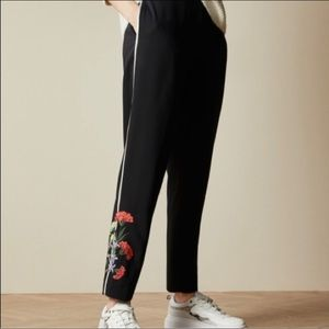 Ted Baker London Highland Embroidered Joggers